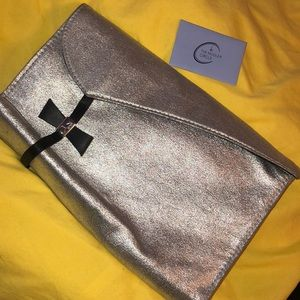 $23 Authentic THEIRRY MUGLER faux leather clutch